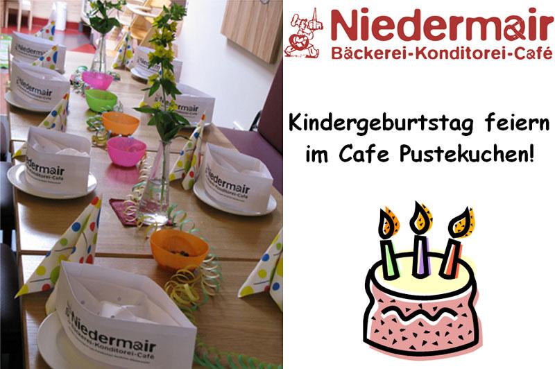 """Kindergeburtstage im """"Café Pustekuchen"""""""