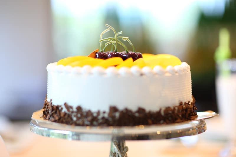 Torten zum Geburtstagsfest