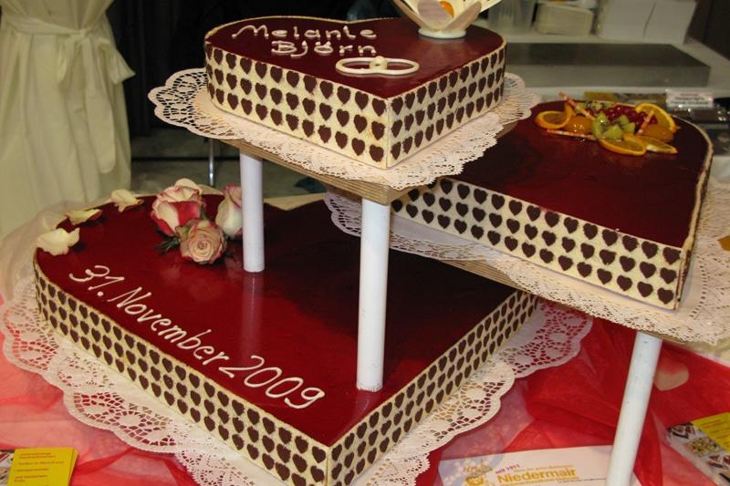 Herztorten bei Bäckerei Niedermair